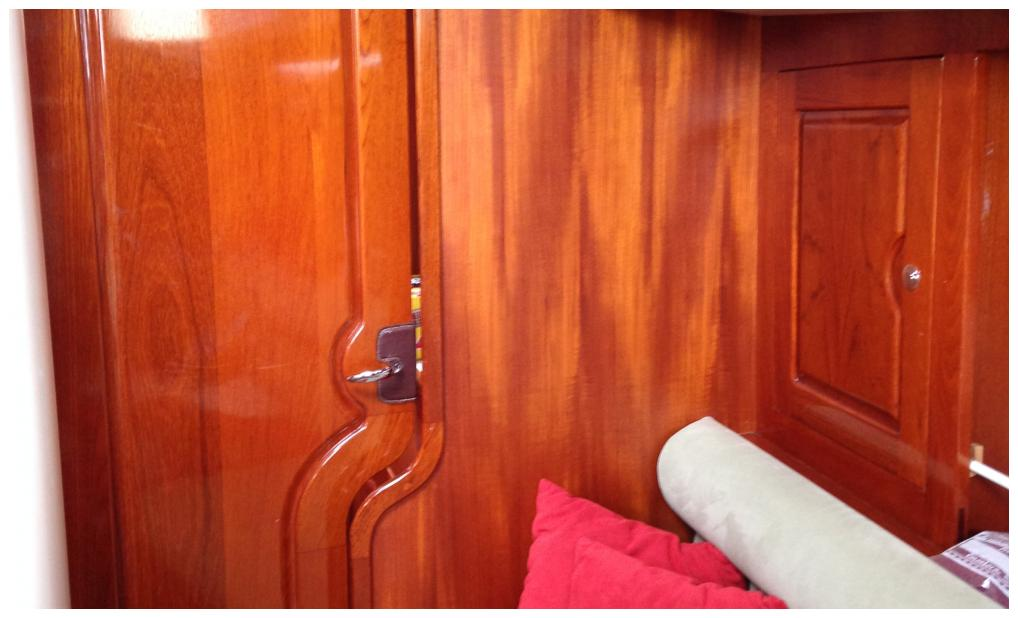 custom yacht interior finish varnish teak